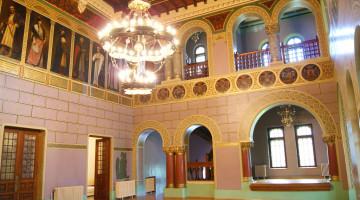 Castelul_Cantacuzino,_holul_de_onoare